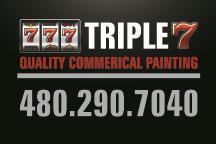 Triple 7 Painting